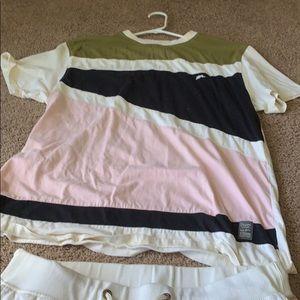 A Tiziano shorts and shirt set